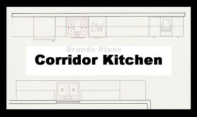 Small Galley Corridor Kitchen Design Layouts