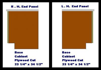 kitchen base cabinet plans free