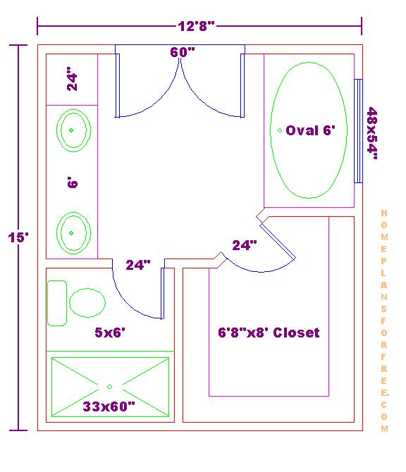 Attractive Parent Directory · Floor Plan 12x15 Master Bath 040610.