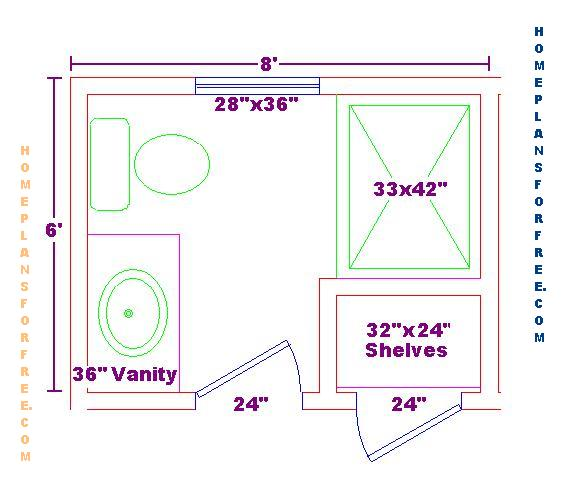Bathroom Design Plans Amazing Visual Guide To 15 Bathroom Floor Plans  Long Narrow Bathroom Design Decoration