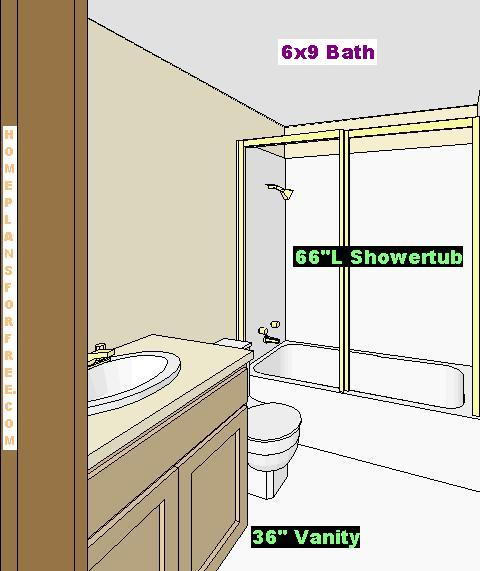 Bathroom Showertub Picture. Laundry Room Free Plan Design with Home Layout including Family