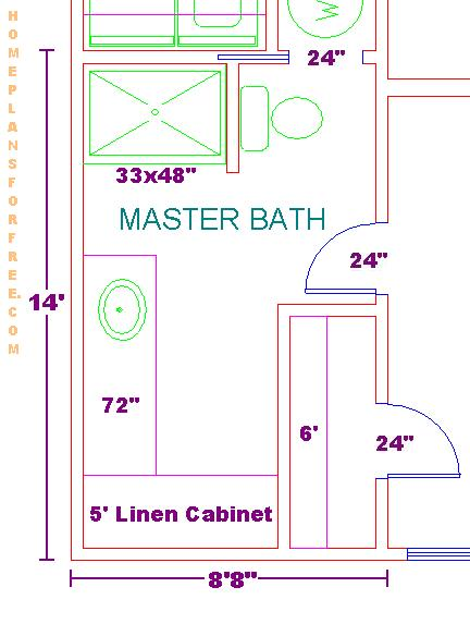 10 X 12 Bedroom Design: New 11x13 Master Bedroom Design Ideas Floor Plan With 8x14