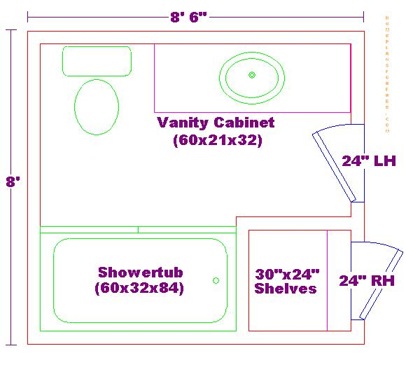 another luxurious master bathroom floor plan with separate areas