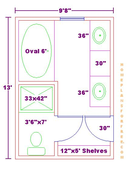 10 x 6 bathroom ideas