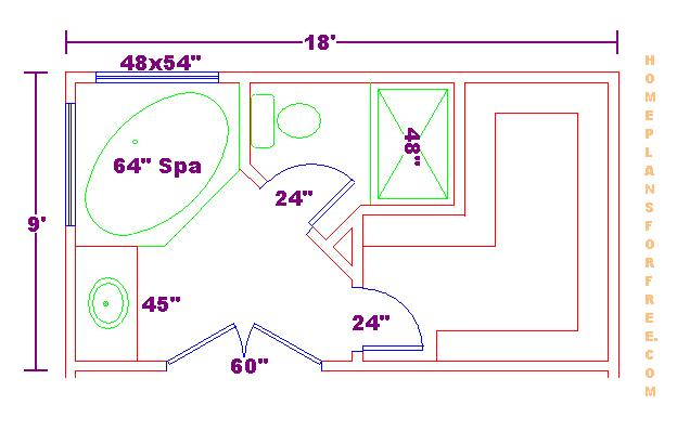 Bathroom Floor Plans/Free 14x14 Master Bathroom Floor Plan With Walk | Home  Decor | Pinterest | Bathroom Floor Plans, Mu2026