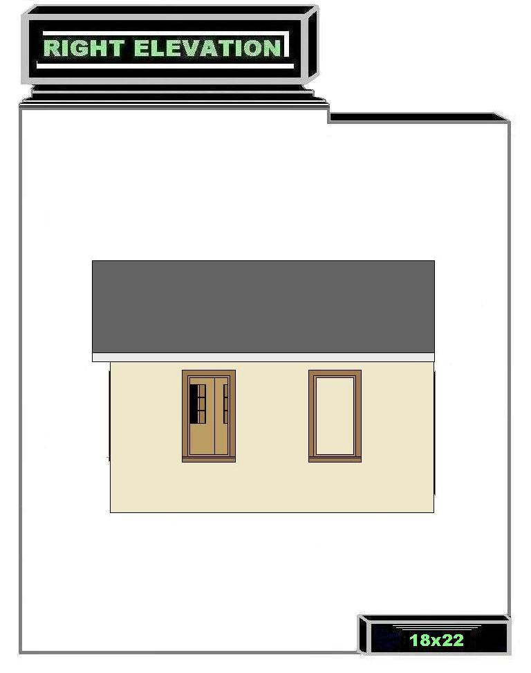 Free 18x22 Master Bedroom Addition Floor Plan with Master Bath and